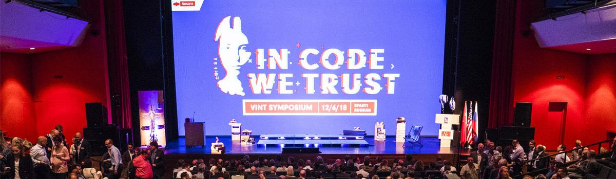 Presentaties VINT Symposium 2018 - In Code We Trust