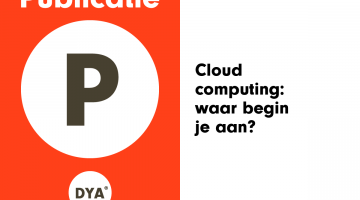 Cloud Computing waar begin je aan